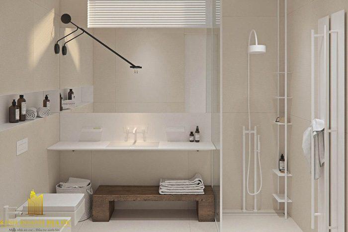Nhà tắm theo trường phái tối giản
