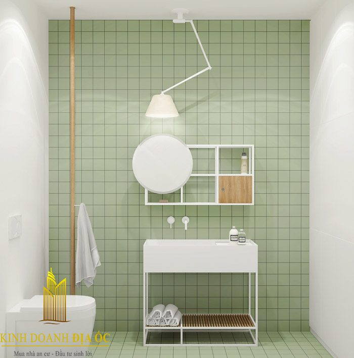 Phòng tắm đẹp, hài hòa