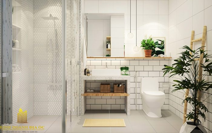 Phòng tắm đẹp đầy sức cuốn hút