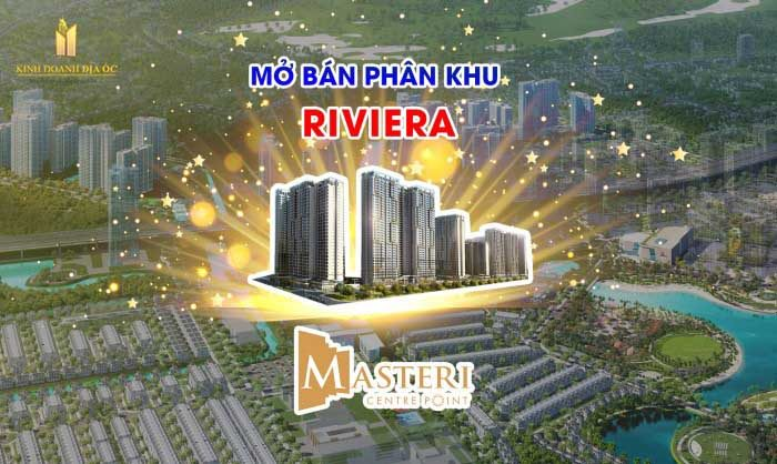 Master Centre Point mở bán riviera
