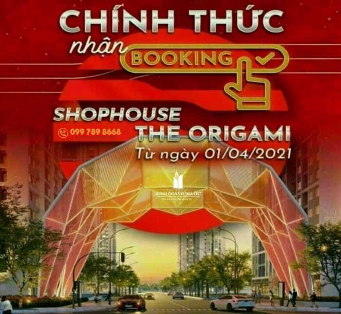 mở bán shophouse origami quận 9