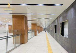 Ga Nhà Hát Thành Phố Tuyến Metro Số 1 Gấp Rút Hoàn Thiện