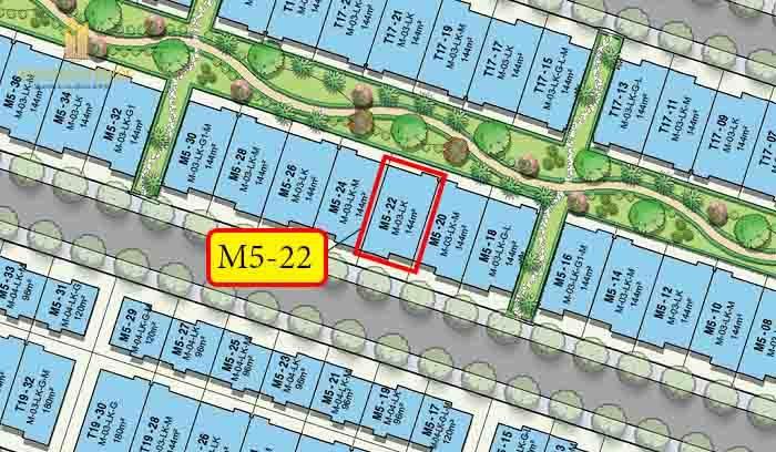 vị trí shophouse M5-22 vinhomes quận 9