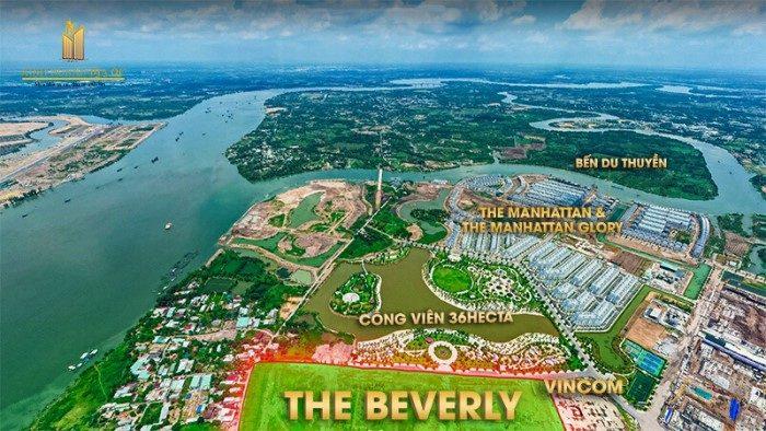 vị trí the beverly - vinhomes grand park quận 9