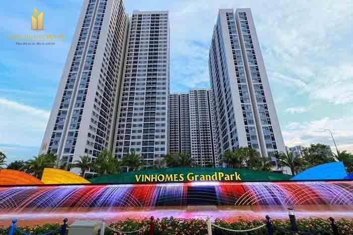cho thuê căn hộ vinhomes grand park 2pn