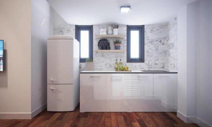căn hộ phong cách tối giản 1