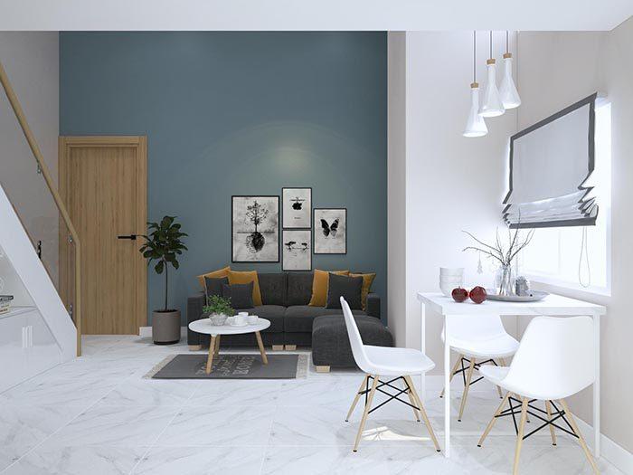Phòng khách dự án 9X Golden Stella Bình Tân