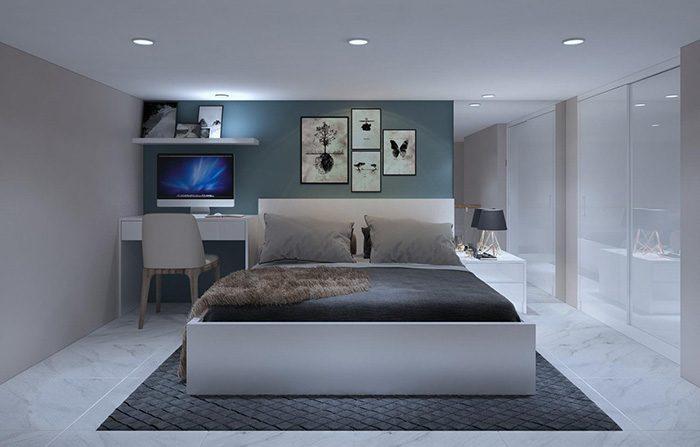 Phòng ngủ dự án 9X Golden Stella Bình Tân