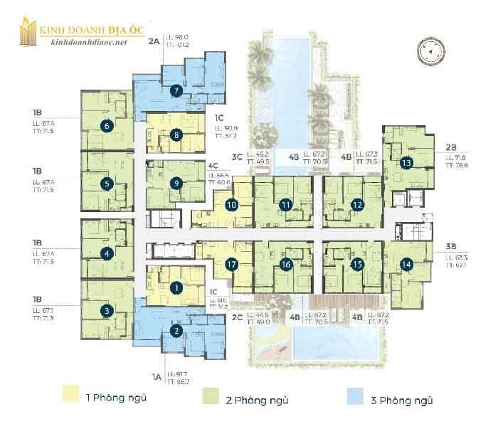 mặt bằng căn hộ precia quận 2 tầng 5-7-8-10-11-13-14-16-17-19-20
