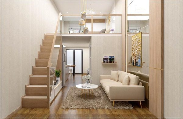 thiết kế căn hộ mini đẹp