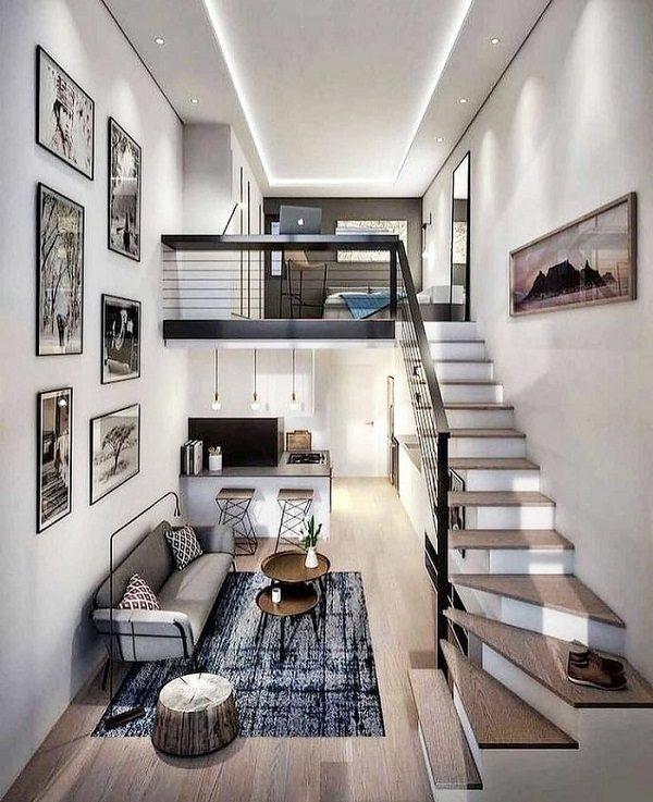 thiết kế căn hộ mini 27m2