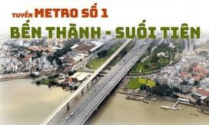 JICA Kiểm Tra Tiến Độ Thi Công Tuyến Đường Sắt Metro Số 1