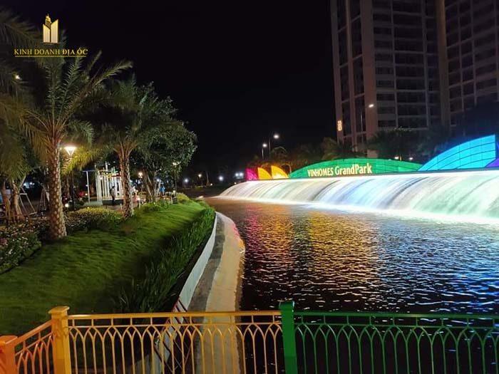 công viên cầu vồng the rainbow