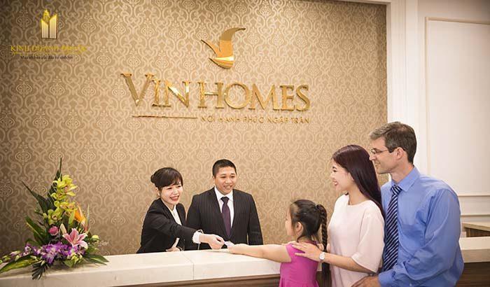 dịch vụ căn hộ vinhomes