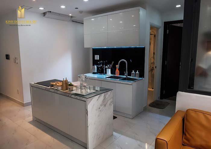 không gian bếp căn hộ