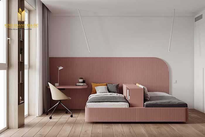 phòng ngủ dành cho bạn gái