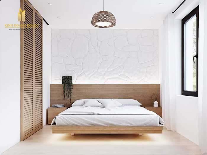 phong cách tối giản thiết kế phòng ngủ