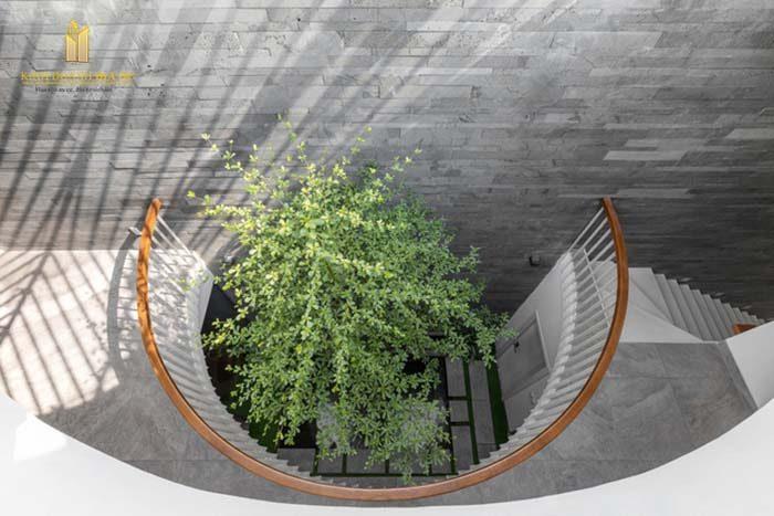 phong cách thiết kế không gian xanh