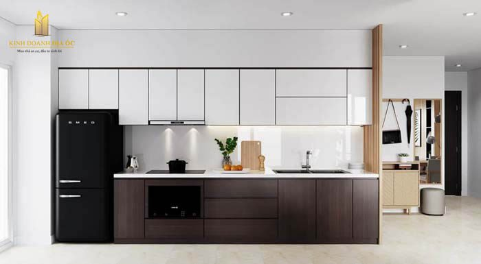 thiết kế bếp