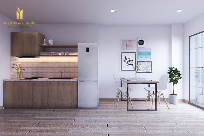 thiết kế căn hộ studio 30 m2
