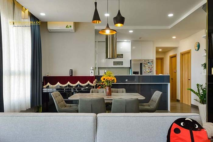 thiết kế không gian bếp
