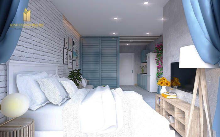 thiết kế nội thất studio vinhomes quận 9
