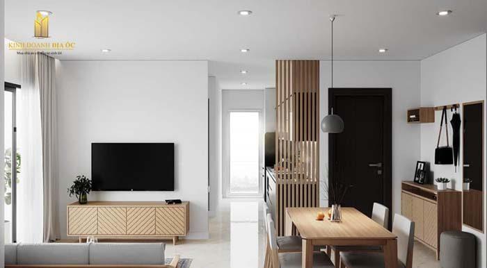 thiết kế phòng khách