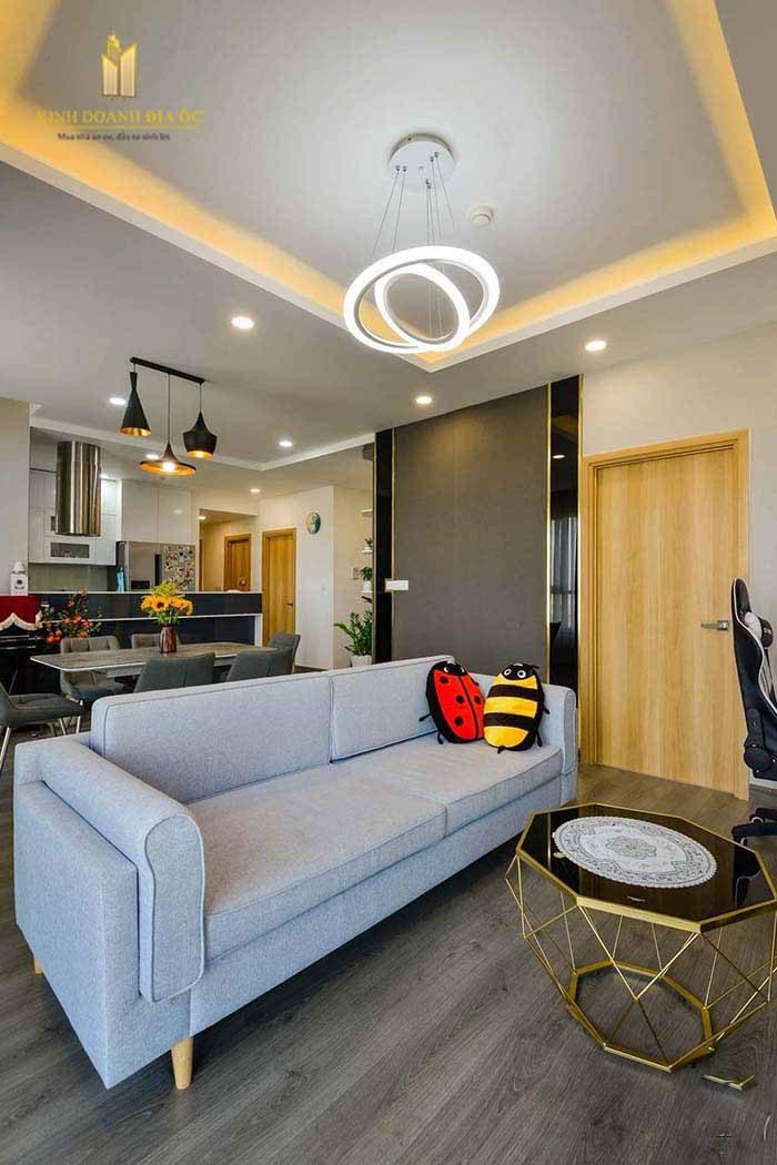 thiết kế phòng khách căn hộ