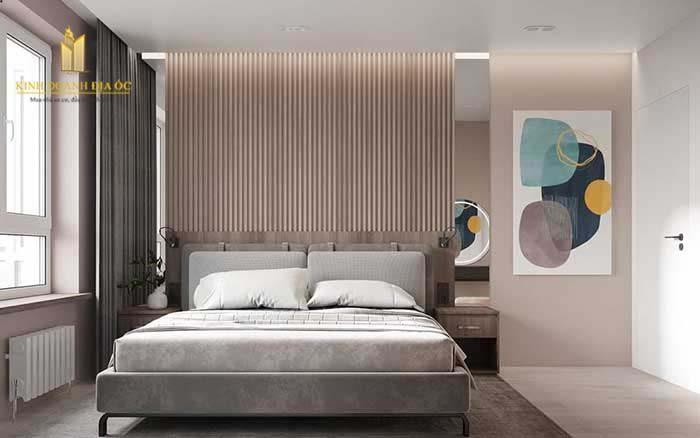 thiết kế phòng ngủ nhẹ nhàng