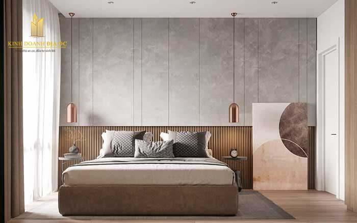 thiết kế phòng ngủ rông rãi