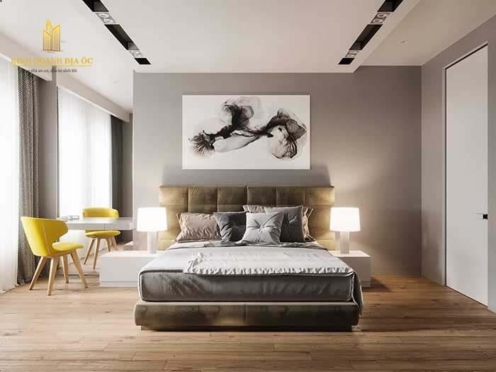 thiết kế phòng ngủ rông
