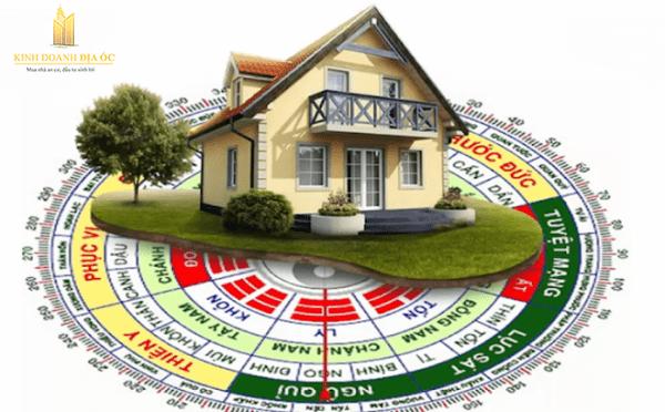 xem phong thuỷ nhà ở theo tuổi gia chủ