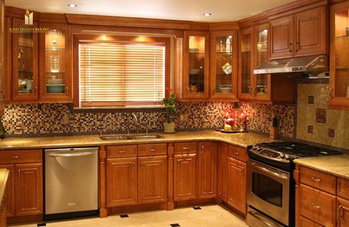 Mẫu thiết kế tủ bếp đẹp theo tiêu chuẩn