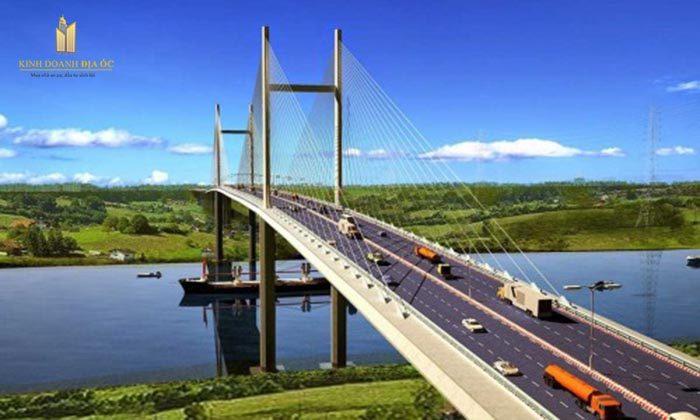 Xây cầu Nhơn Trạch