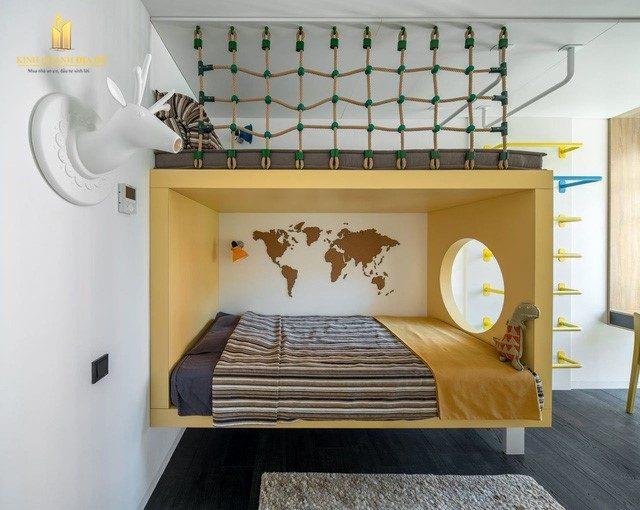 khong gian phòng ngủ cho be