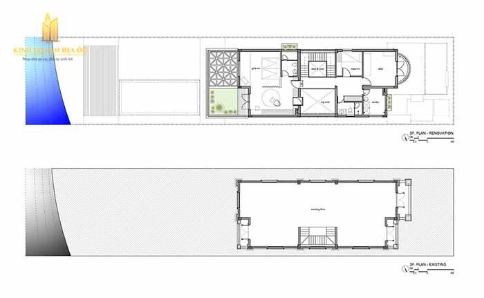 Mặt bằng biệt thự vinhomes quận 9 thiết kế