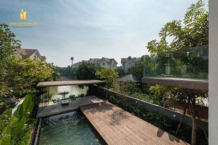 thiết kế biệt thự vinhomes grand park ven sông