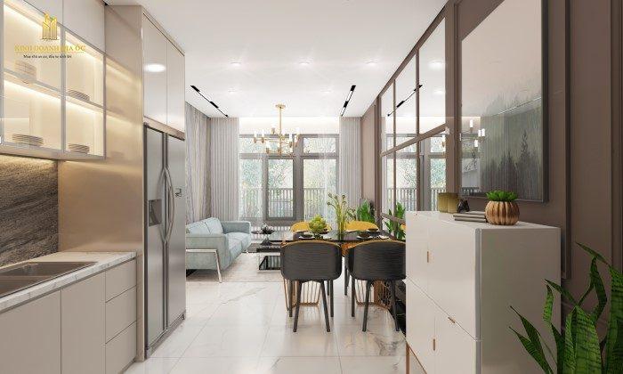 thiết kế nội thất căn hộ 3Pn vinhomes grand Park