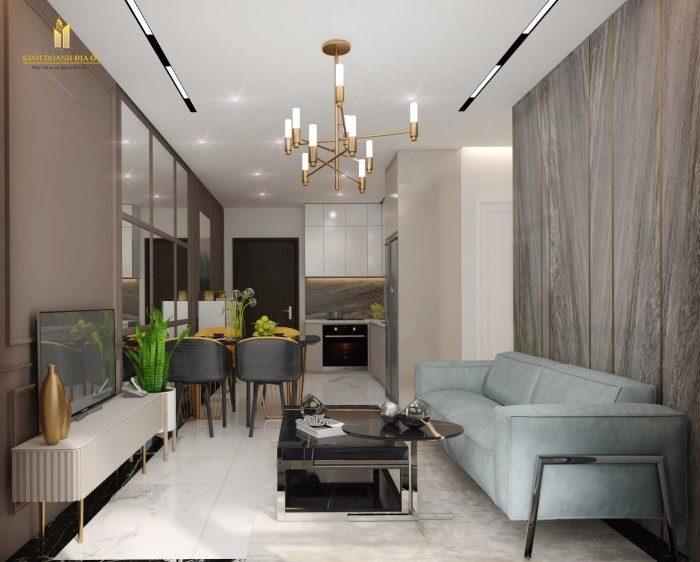 thiết kế nội thất căn hộ 3pn vinhomes quận 9 đẹp