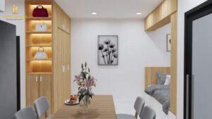 Cho Thuê Căn Hộ Studio Full Nội Thất View Công Viên Nội Khu The Rainbow