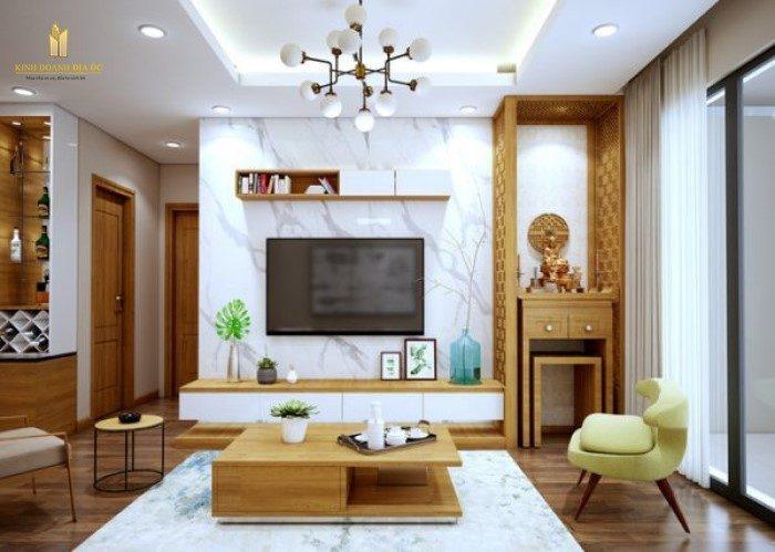 Mẫu bàn thờ căn hộ chung cư