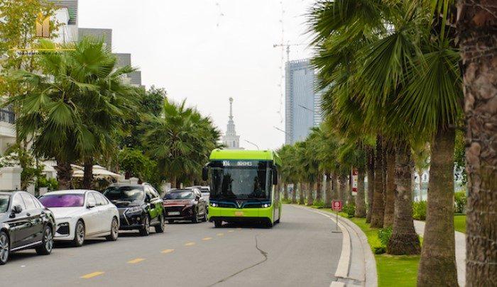 Vinbus vận hành tại Hà Nội