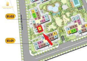 Cần Cho Thuê Căn Hộ Tòa S1.02 The Rainbow 3PN Nhà Trống