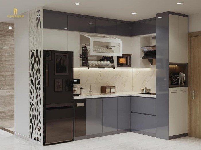 không gian bếp căn hộ 2pn+