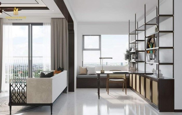 nội thất căn hộ 2pn+ vinhomes grand park