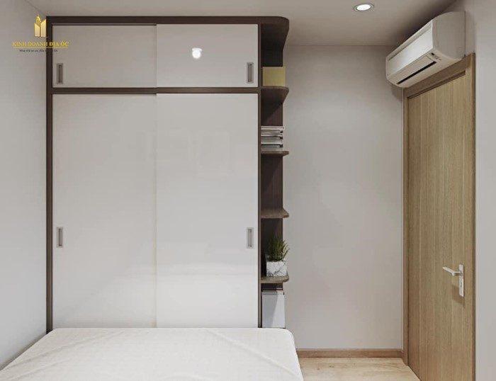 phòng ngủ căn hộ 2pn+ vinhomes