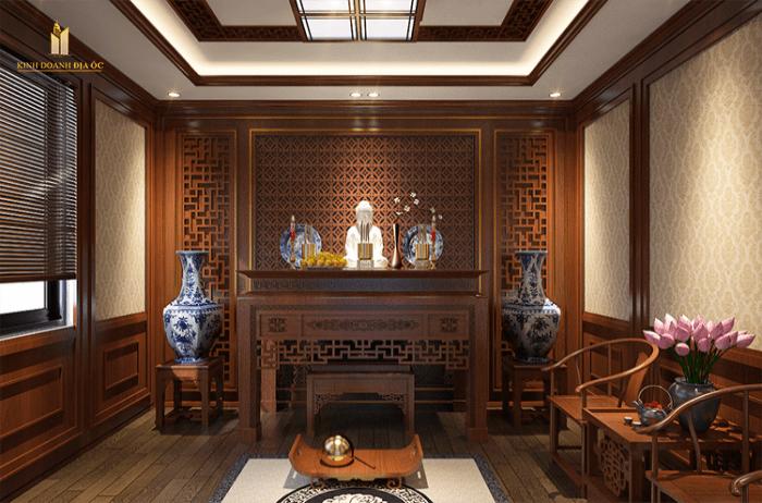 thiết kế bàn thờ căn hộ đẹp