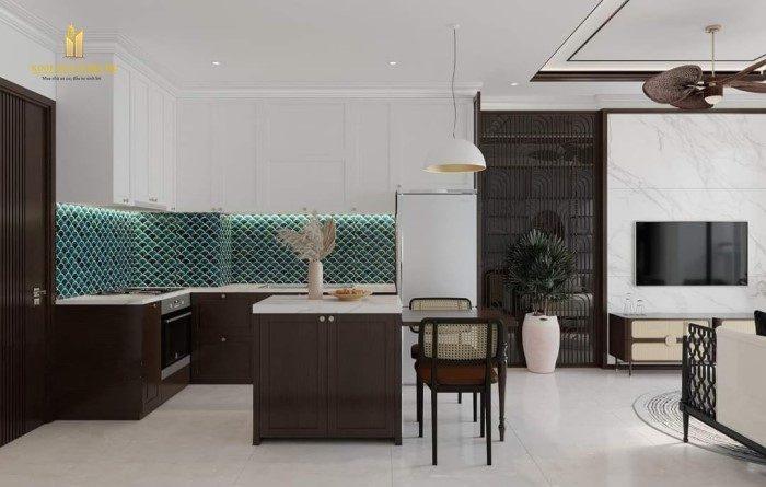 thiết kế căn hộ 2pn+ vinhomes quận 9