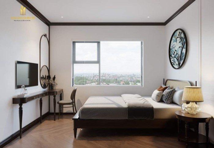 thiết kế phòng ngủ căn hộ