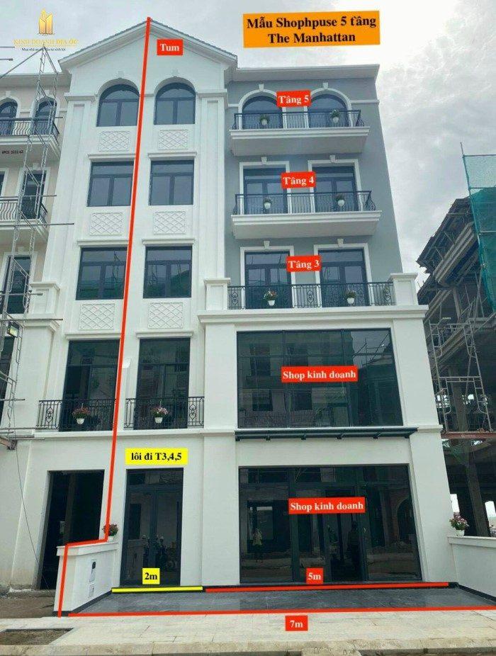 cho thue shophouse the manhattan dường t12 quan 9